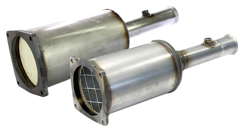 DPF filter obnovljen
