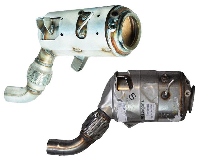 DPF filter - obnova in popravilo
